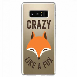 Etui na Samsung Galaxy Note 8 - Crazy like a fox.
