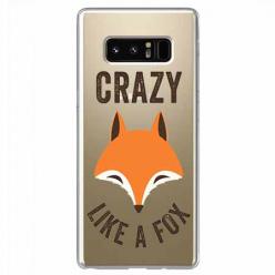 Etui na Samsung Galaxy Note 8 - Crazy like a fox.