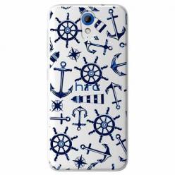 Etui na HTC Desire 620 - Ahoj wilki morskie.
