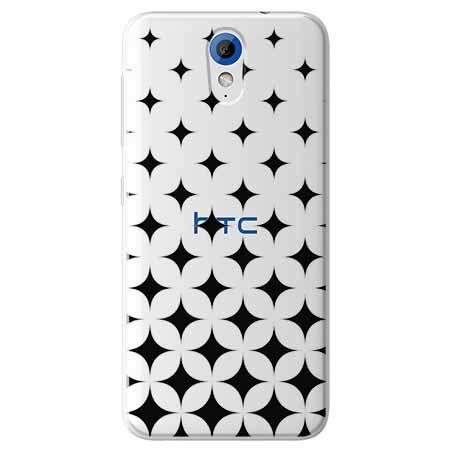Etui na HTC Desire 620 - Diamentowy gradient.