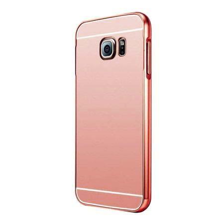 Mirro bumper case na Samsung Galaxy S7 (Rose Gold) - Różowy