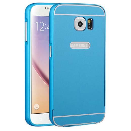 Bumper case na Galaxy S7 - niebieski