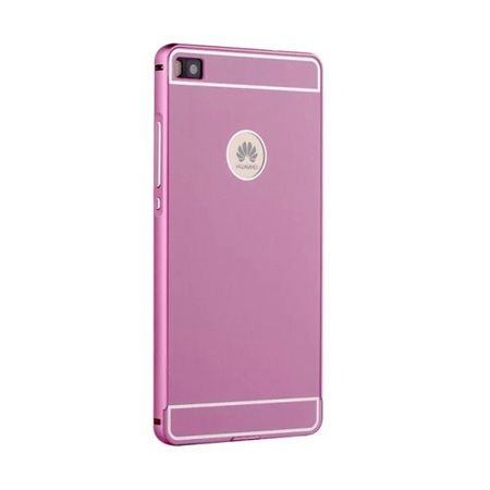 Bumper case na Huawei P8 - Różowy