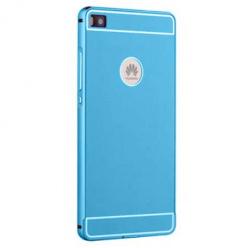 Bumper case na Huawei P8 - Niebieski