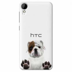Etui na HTC Desire 825 - Słodki szczeniaczek.
