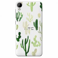 Etui na HTC Desire 825 - Kaktusowy ogród.