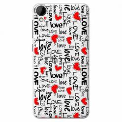 Etui na HTC Desire 825 - Love, love, love…