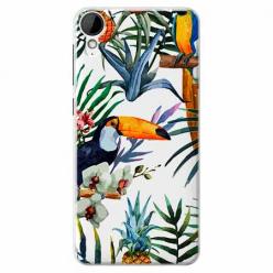 Etui na HTC Desire 825 - Egzotyczne tukany.