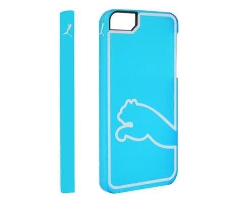Etui iPhone 5/5S Puma Monoline - błękitny