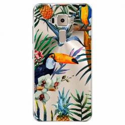 Etui na Zenfone 3 - Egzotyczne tukany.