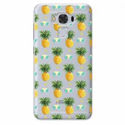 Etui na Zenfone 3 Max - Ananasowe szaleństwo.