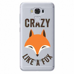Etui na Zenfone 3 Max - Crazy like a fox.