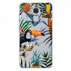 Etui na Zenfone 3 Max - Egzotyczne tukany.