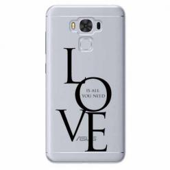 Etui na Zenfone 3 Max - All you need is LOVE.
