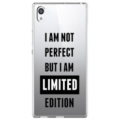 Etui na Sony Xperia E5 - I Am not perfect…