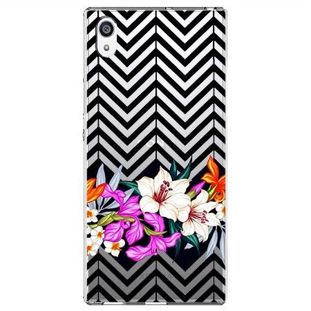 Etui na Sony Xperia E5 - Kwiatowy bukiet dla Ciebie.