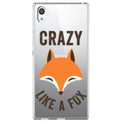 Etui na Sony Xperia E5 - Crazy like a fox.
