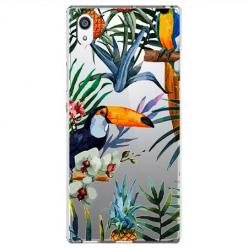 Etui na Sony Xperia E5 - Egzotyczne tukany.