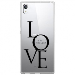 Etui na Sony Xperia E5 - All you need is LOVE.