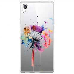 Etui na Sony Xperia E5 - Watercolor dmuchawiec.