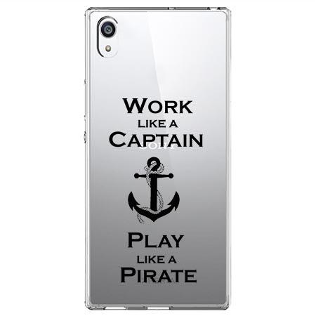 Etui na Sony Xperia E5 - Work like a Captain…