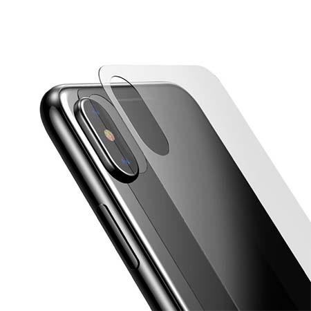 Hartowane szkło na Tył telefonu Apple iPhone XS - bezbarwne