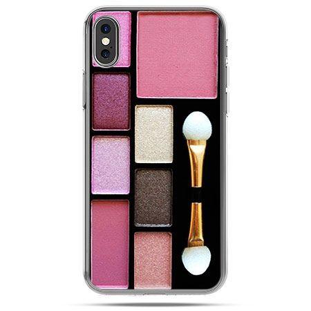 Etui na telefon iPhone XS - zestaw do makijażu