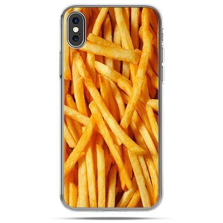 Etui na telefon iPhone XS - frytki