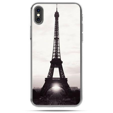 Etui na telefon iPhone XS- Wieża Eiffla