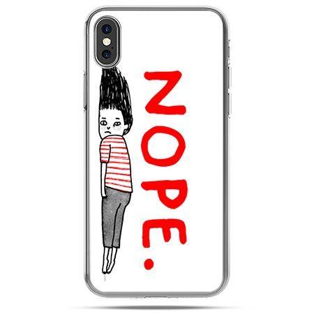 Etui na telefon iPhone XS - Nope
