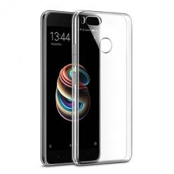Etui na Xiaomi Mi A1 - silikonowe, przezroczyste crystal case.
