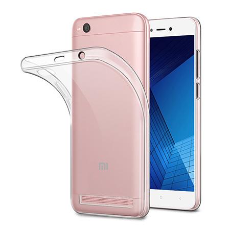 Etui na Xiaomi Redmi 5A - silikonowe, przezroczyste crystal case.