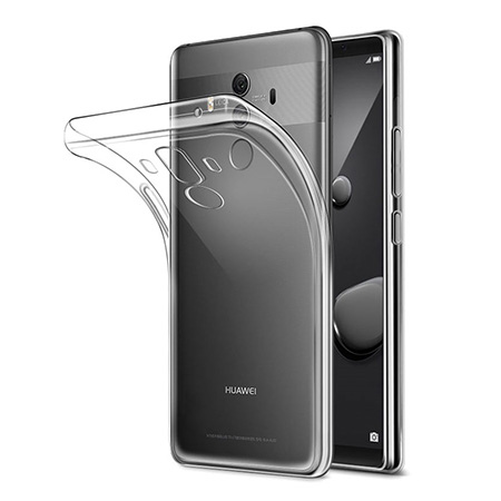Etui na Huawei Mate 10 Pro - silikonowe, przezroczyste crystal case.