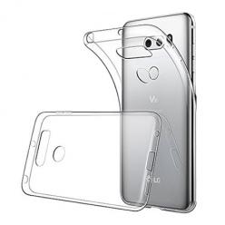 Etui na LG V30 - silikonowe, przezroczyste crystal case.