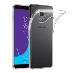 Etui na Samsung Galaxy J6 2018 - silikonowe, przezroczyste crystal case.