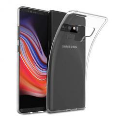 Etui na Samsung Galaxy Note 9 - silikonowe, przezroczyste crystal case.