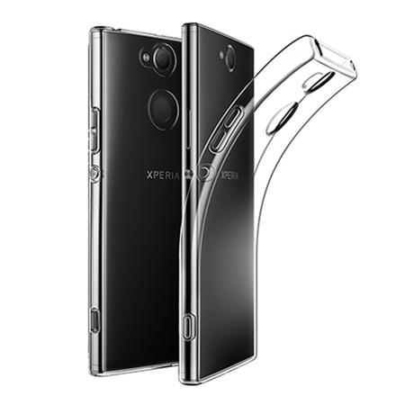 Etui na Sony Xperia XA2 - silikonowe, przezroczyste crystal case.