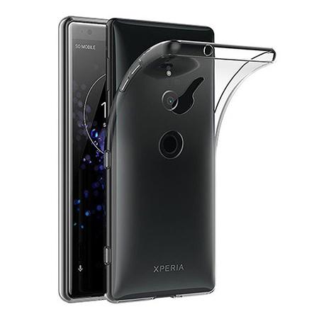 Etui na Sony Xperia XZ2 - silikonowe, przezroczyste crystal case.