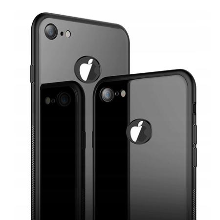 Etui na Apple iPhone 7 - GLAZZ Kejs - Czarny
