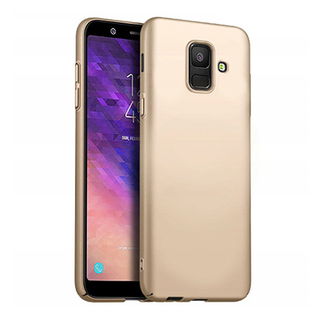 Etui na telefon Samsung Galaxy J6 2018 - Slim MattE - Złoty.