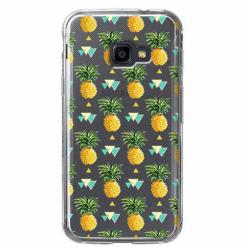 Etui na Samsung Galaxy Xcover 4 - Ananasowe szaleństwo.