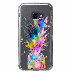 Etui na Samsung Galaxy Xcover 4 - Watercolor ananasowa eksplozja.