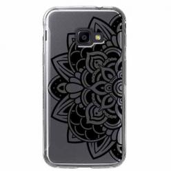 Etui na Samsung Galaxy Xcover 4 - Kwiatowa mandala.