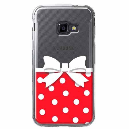 Etui na Samsung Galaxy Xcover 4 - Gustowna kokardka.
