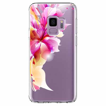 Etui na Samsung Galaxy S9 - Bajeczny kwiat.