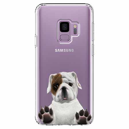 Etui na Samsung Galaxy S9 - Słodki szczeniaczek.