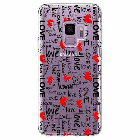 Etui na Samsung Galaxy S9 - Love, love, love…