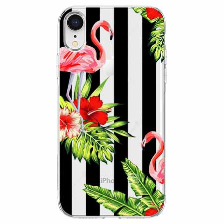 Etui na telefon Apple iPhone XR - Opowieści flamingów.