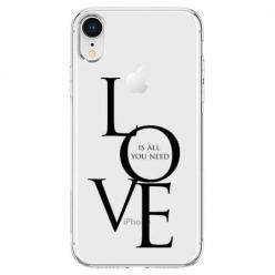 Etui na telefon Apple iPhone XR - All you need is LOVE.