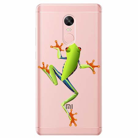 Etui na telefon Xiaomi Redmi 5 - Zielona żabka.